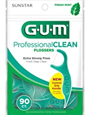 Gum Professional Clean Flosser Picks, Fresh Mint, 90 count