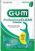 Gum Professional Clean Flosser Picks, Fresh Mint, 90 count