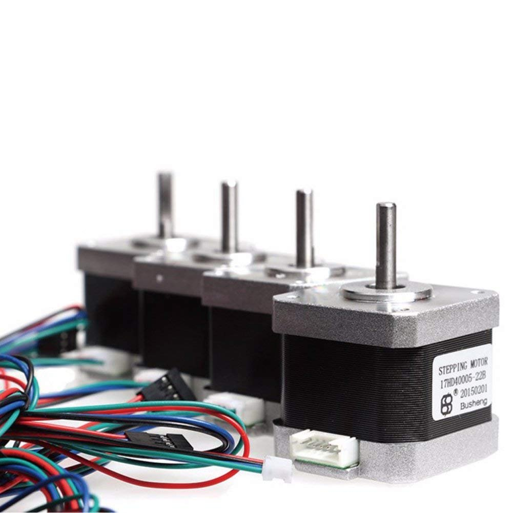3D Printer Stepper Motor Leads 4 Cable Length 1M 1 Bunch New