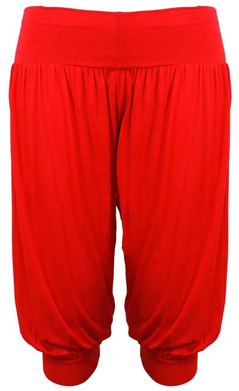 ea8096b5 50%OFF F4U ® Mujer 3/4 Ali Baba pantalones baggy short Alibaba harén ...
