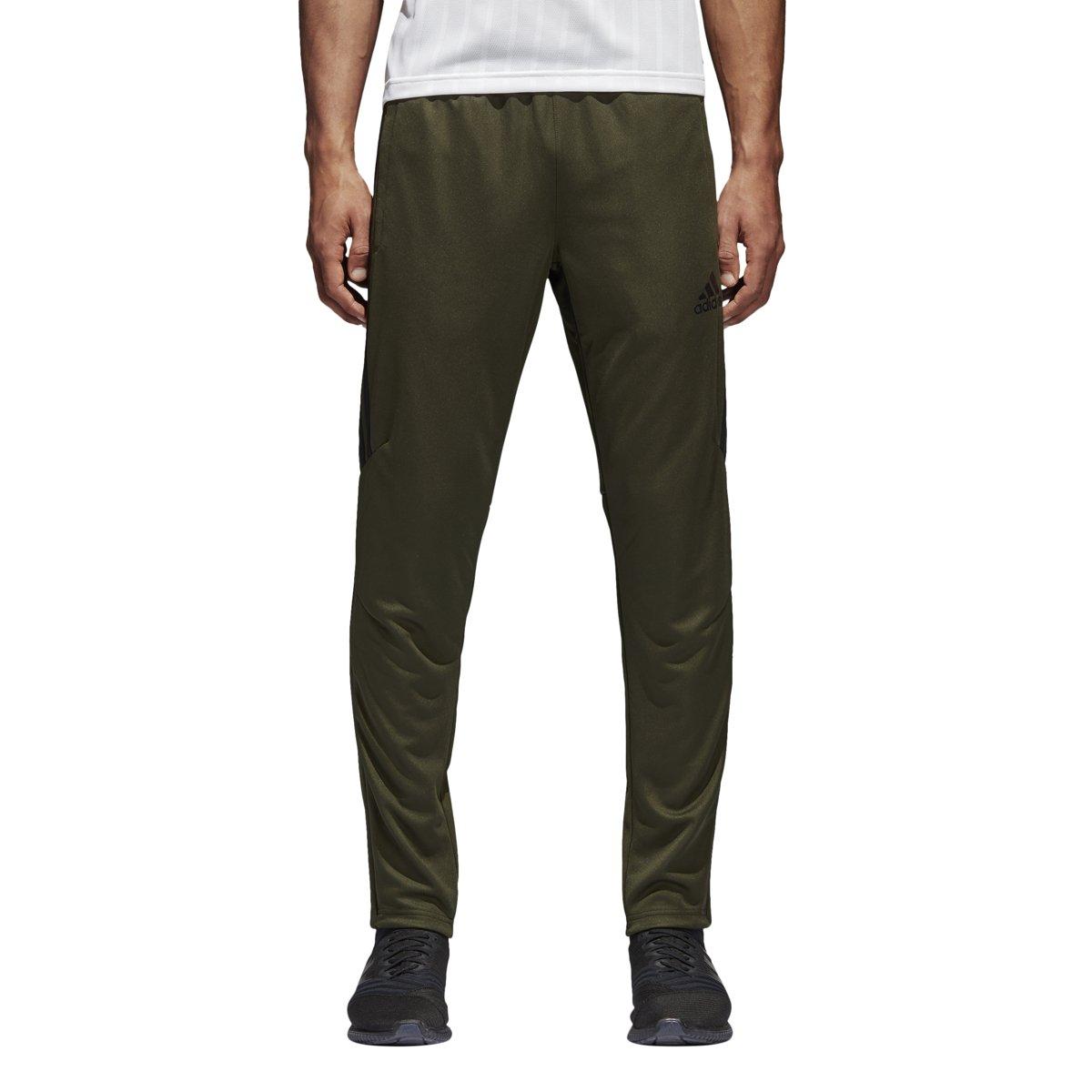 adidas Mens Tiro17 TRG Pant, Night Cargo/Black, X-Small