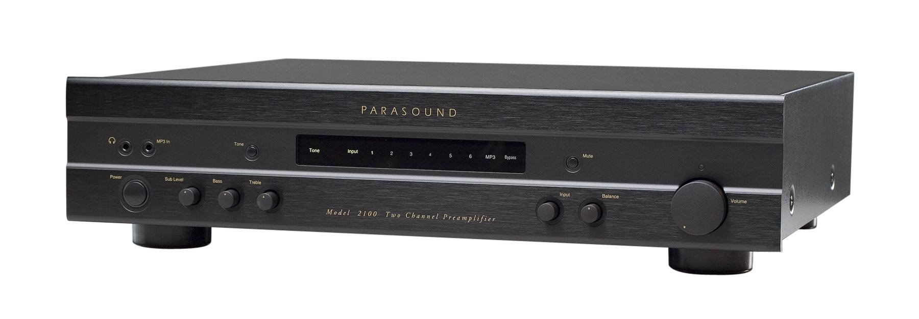 Parasound - Classic 2100 Stereo Preamp by Parasound