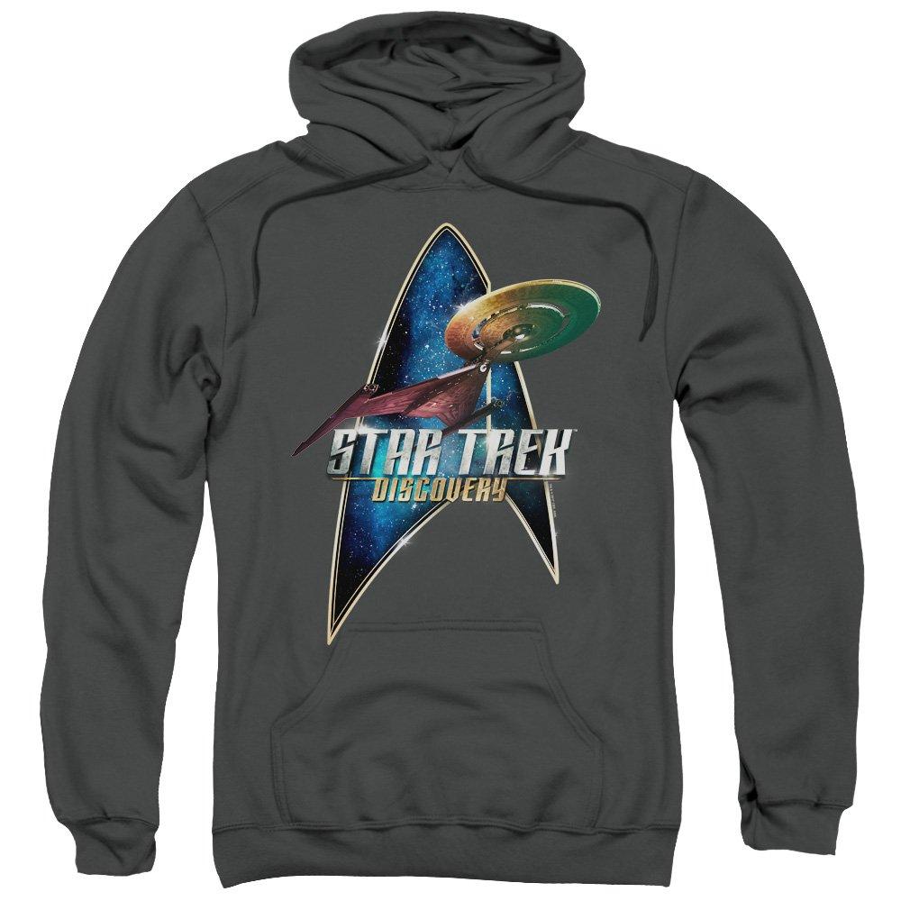 Star Trek Discovery - - Men& 039;s Discovery Deco Hoodie mit Reißverschluss