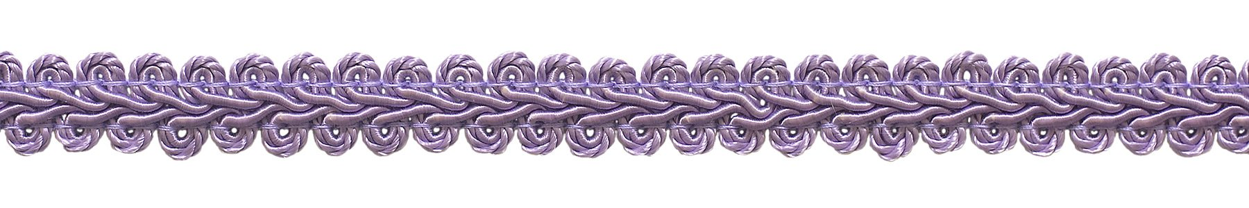 DÉCOPRO 54 Yard Value Pack of 1/2 inch Basic Trim French Gimp Braid, Style# FGS Color: Lilac - D7 (164 Ft / 50 Meters) by DÉCOPRO