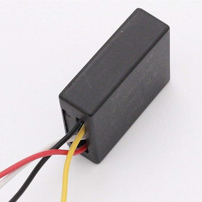 1 paquete Interruptor de atenuaci/ón para l/ámparas atenuador de 3 niveles Interruptor de atenuaci/ón enchufable con control de panel t/áctil 60W Los atenuadores de luz para l/ámparas son ideales