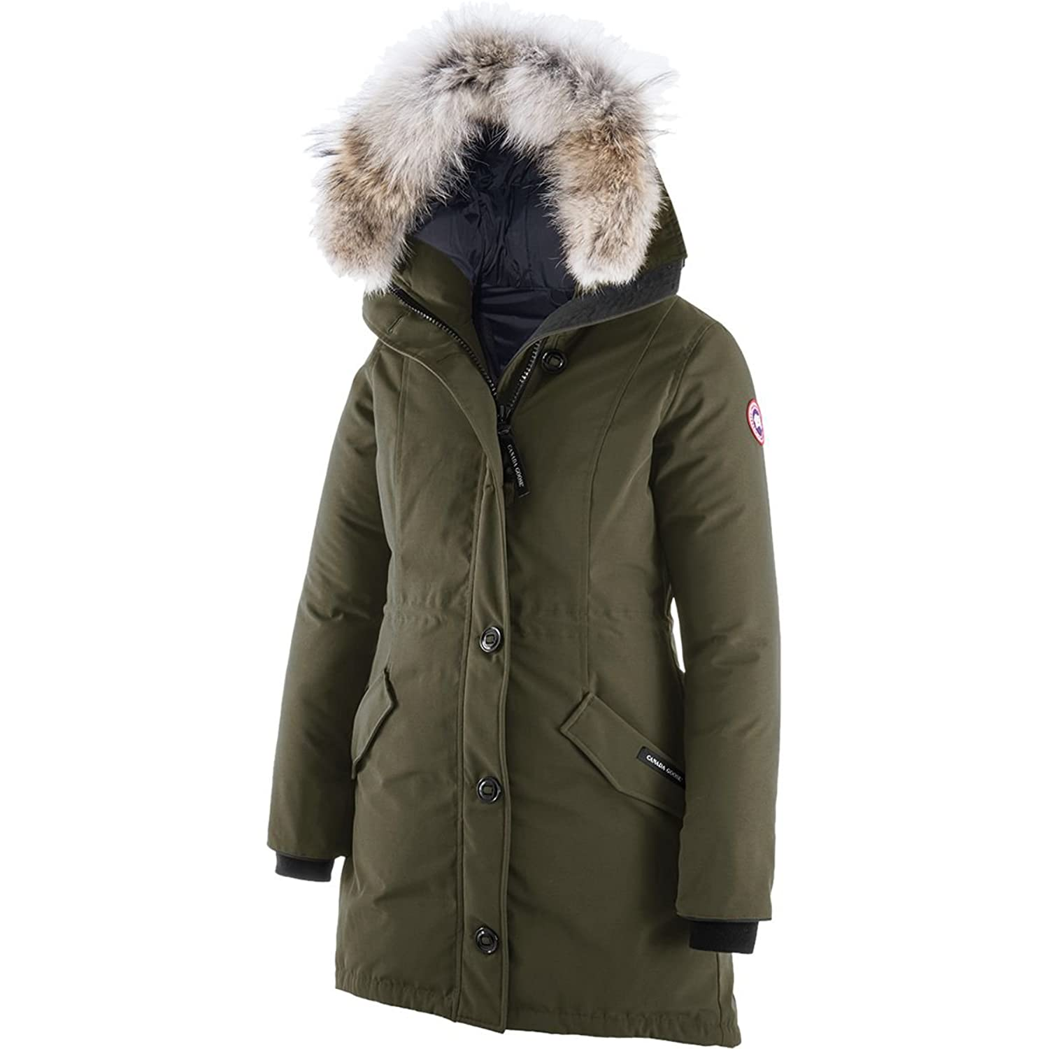 Canada Goose Rossclair Down Parka - Women's Military Green, XX ...