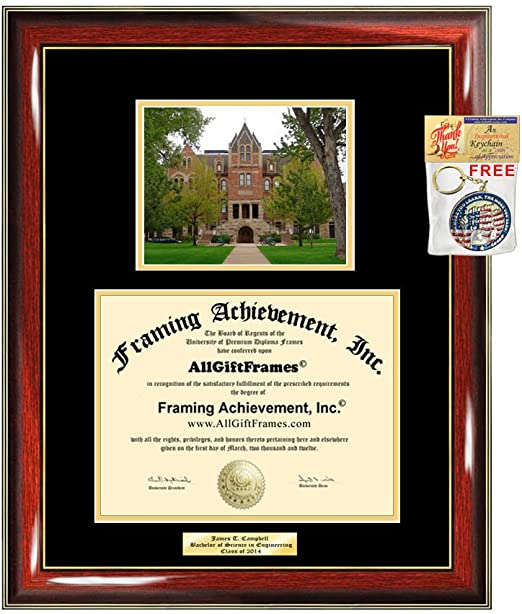 University of Colorado Boulder Diploma Frame UC Boulder School Campus Photo Double Matted Degree Framing Graduation Gift Bachelor Master MBA Doctorate PHD Certificate Holder Case
