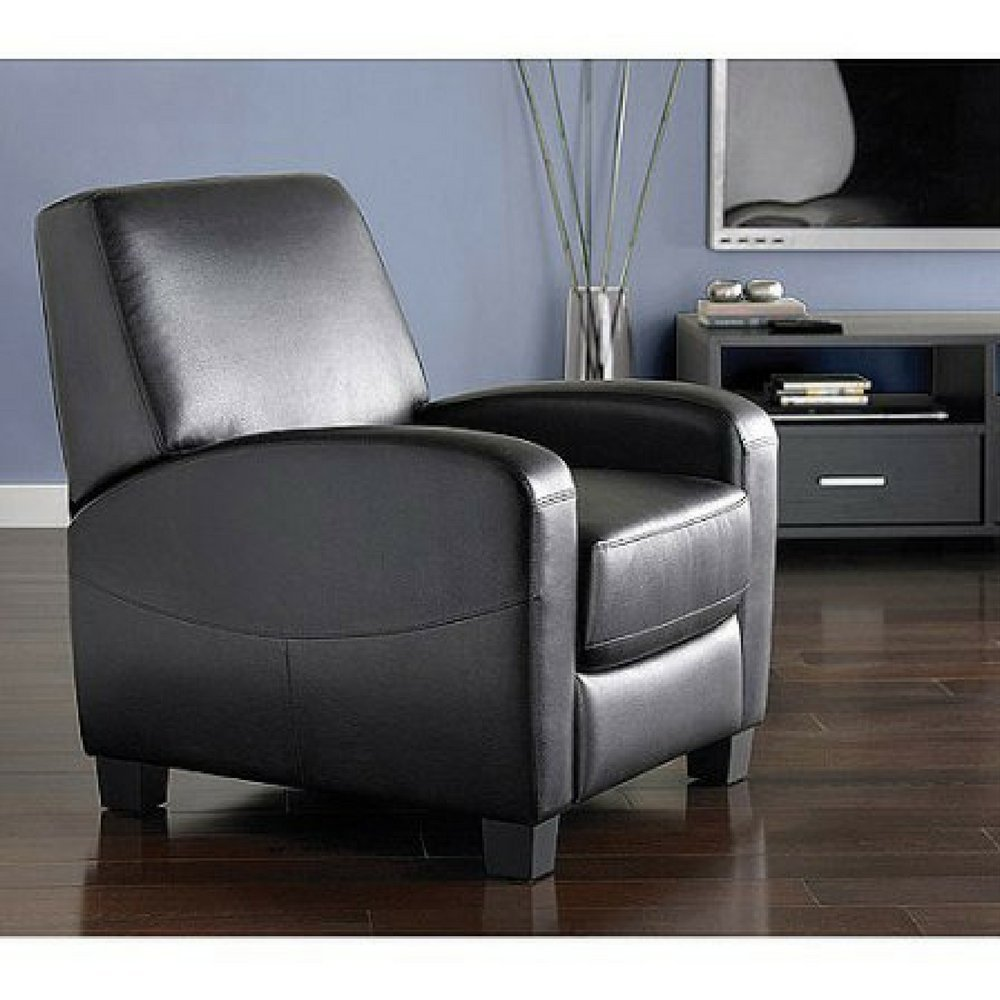 Mainstays Home Theater Recliner, Multiple Colors (Black)