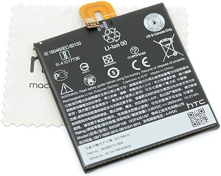 Batería para HTC Original B2Q3F100 35H00274-00M para HTC U11 Life con paño de limpieza mungoo: Amazon.es: Electrónica