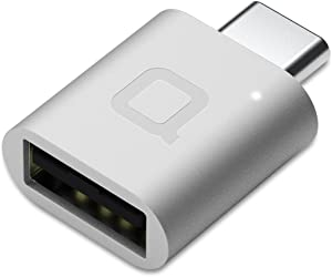 nonda Adaptador USB Tipo C a USB 3.0, Adaptador Thunderbolt 3 a USB de Aluminio con LED Indicador para MacBook Pro 2019/2018, MacBook Air 2018, Pixel 3, y más dispositivos de tipo C (Plateado)