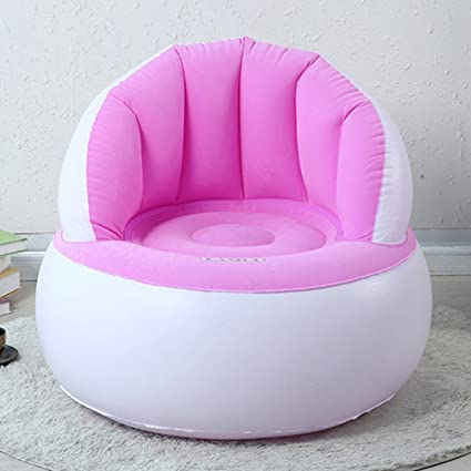 Pink  Inflatable SofaGREEN JUNGLE Inflatable Chair Inflatable Ultra Lounge Super Comfortable Durable with & Buy Pink : Inflatable Sofa GREEN JUNGLE Inflatable Chair Inflatable ...