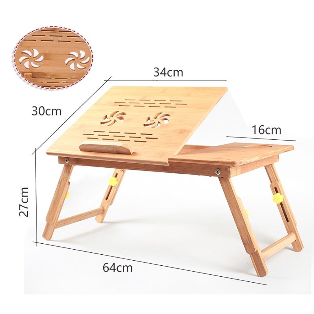 Laptop Desk Folding Table On The Bed College Students Dorm Room Folding Tables Modern Simplicity Small Desk ( Size : 15# )
