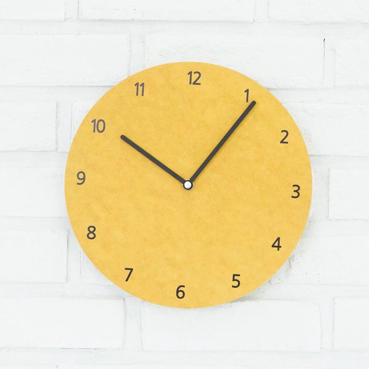 壁時計 クロック 壁掛け時計 時計 掛け時計 数字時計 wall clock 無音 電池式 静音 欧風 ファッション 簡約 彫り シンプル デザイン ホーム用品 おしゃれ 掛け時計 デジタル インテリア 客間 リビング グリーン OSONA B071FKHK3Y 幅26cm*高さ26cm|グリーン グリーン 幅26cm*高さ26cm
