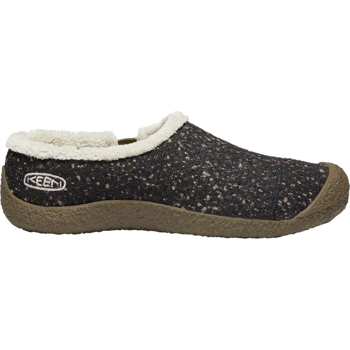 KEEN Women's Howser Slide Wool Clog, Canteen/Pelican, 10 M US