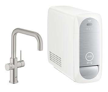 Grohe Blue Home Duo   Küchenarmatur   2 In 1 Trinkwassersystem Und  Spültischarmatur  
