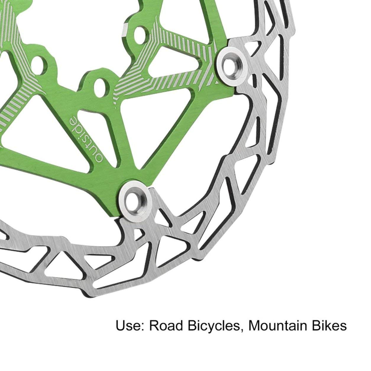 Colore: Blu Dailyinshop DECKAS Ultra-Light MTB Mountain Bike Bicicletta Disco Disco Galleggiante Galleggianti 160mm 6 Bolt Rotori Parti Accessori Ciclismo