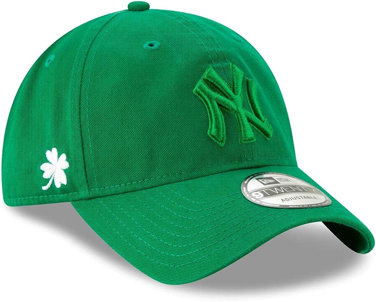 New Era New York Yankees MLB 9Twenty Tonal Core Classic St. Patrick's Day Hat 61A3hRWJDZL