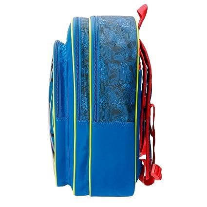 Disney 40624B1 Racing Series Mochila infantil, 40 cm, 19.2 litros, Azul: Amazon.es: Equipaje