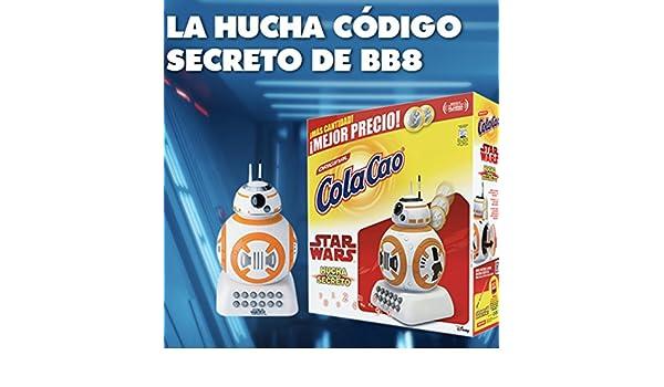 Cola Cao 3kg y Hucha Star Wars codigo secreto: Amazon.es: Alimentación y bebidas