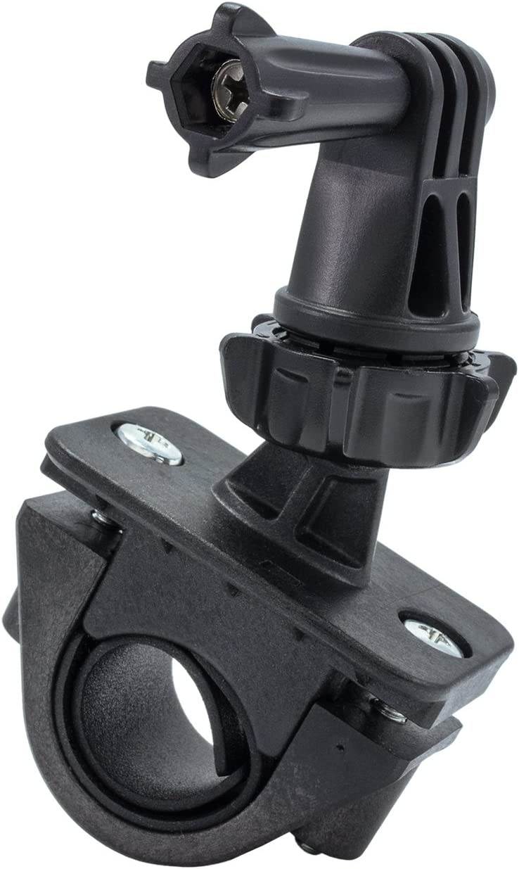 Bike Motorbike Handlebar Clamp Bracket Holder Mount For Action Camera Gopro 5 4