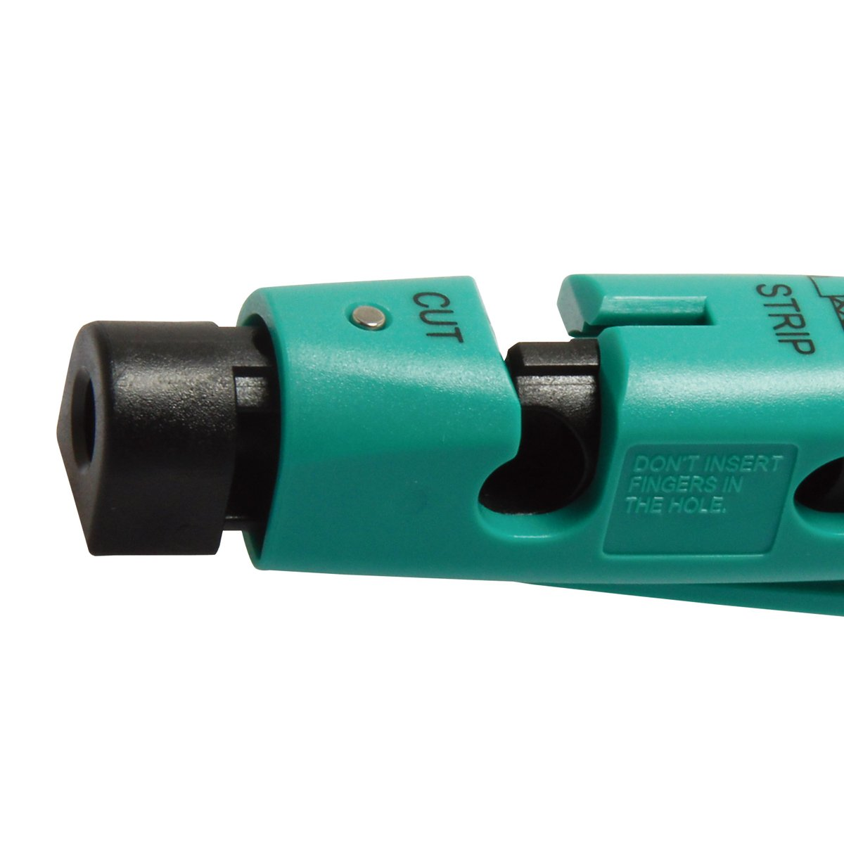 CP-507 Coaxial Cable Stripper/Cutter for RG-59, RG-6 Coaxial Cable Wire Stripper Tool 111mm Length by Tpmall (Image #3)