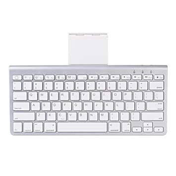 "Chezaa Keyboard,Btooth Ultra Slim Keyboard For I Pad Air 2/Air, I Pad Pro, I Pad Mini 4/3/2/1, I Pad 4/3/2, New I Pad 9.7""(2018/2017), Galaxy Tabs And Other Mobile Devices by Chezaa"