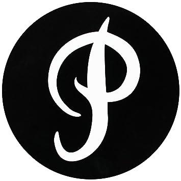 Amazon Primitive Skateboard Sticker P Logo Circle Black 3