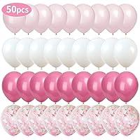 MMTX 50 Piezas Globos de Confeti Globos