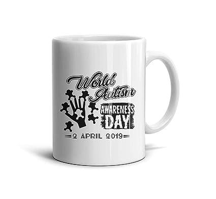 Amazon com: KDIHADGH World Autism Awareness Day Design Black