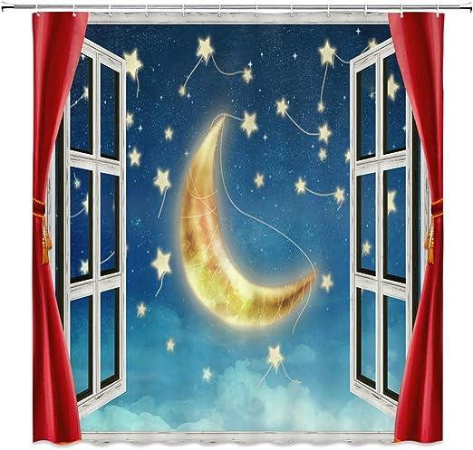 Harry Potter Hogwarts Castle Moon Custom Printed Photo Beach Bath Towel Gifts