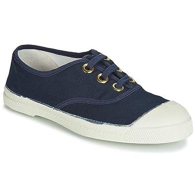 870962a847a6b Bensimon Tennis Lacet Golden EYELE, Baskets Femmes, Bleu (Marine 516), 36