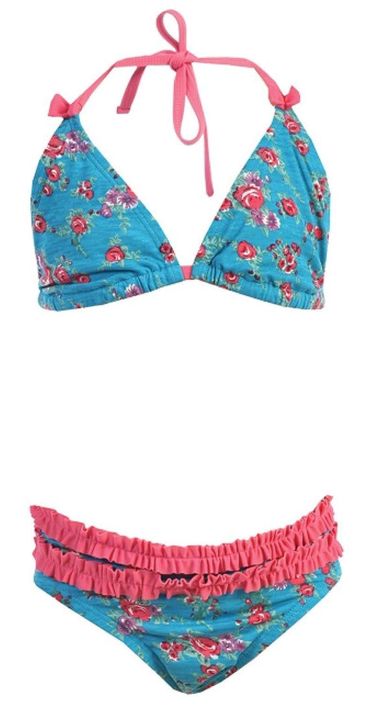 2 PC. Girls' Rose Teal Swimwear
