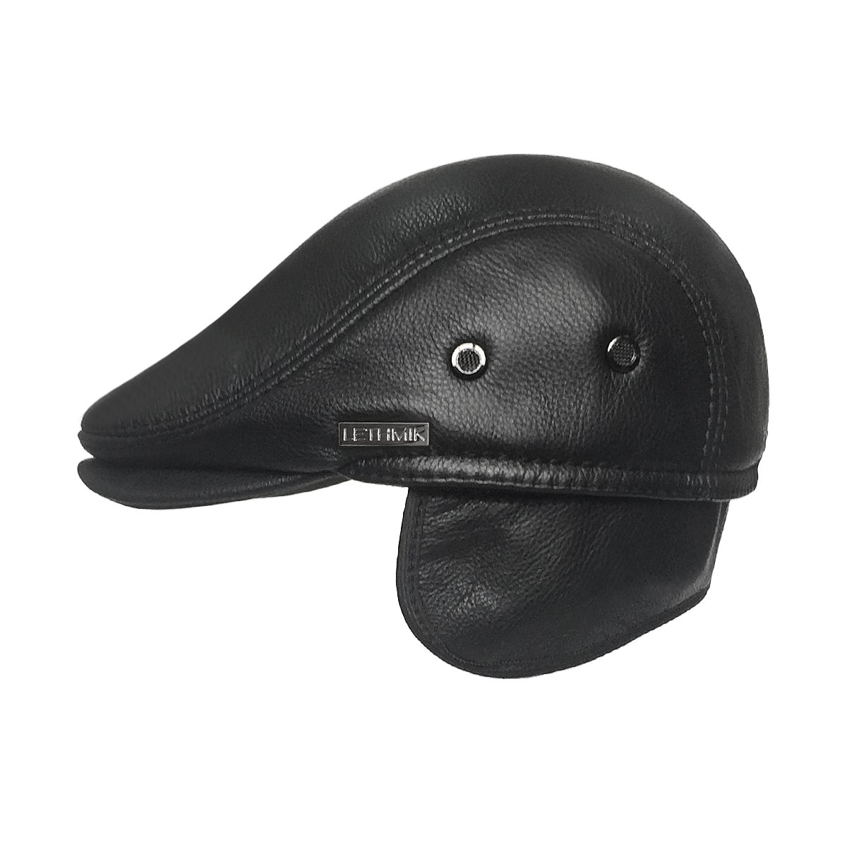 Amazon.com  LETHMIK Flat Cap Cabby Hat Genuine Leather Vintage Newsboy Cap  Ivy Driving Cap  Sports   Outdoors 8611daffb1be