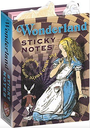 Alice in Wonderland Sticky Notes Booklet