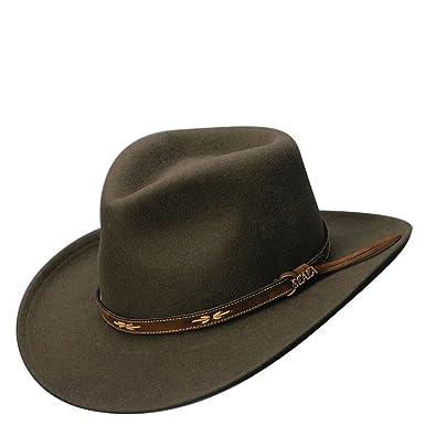 872dbb854f829 Scala Classico Men s Crush Felt Outback Hat