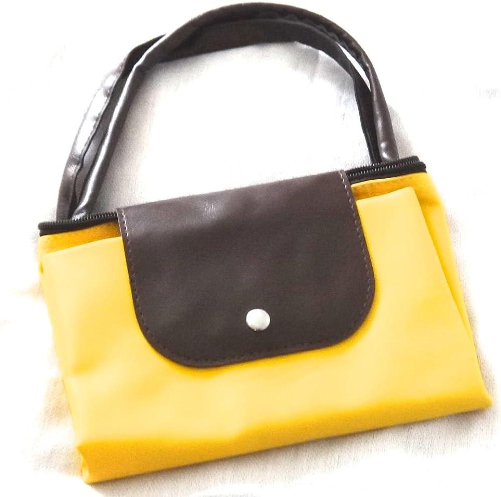 Women Fashion Waterproof Handbag Foldable Tote Travel Shoulder Bag