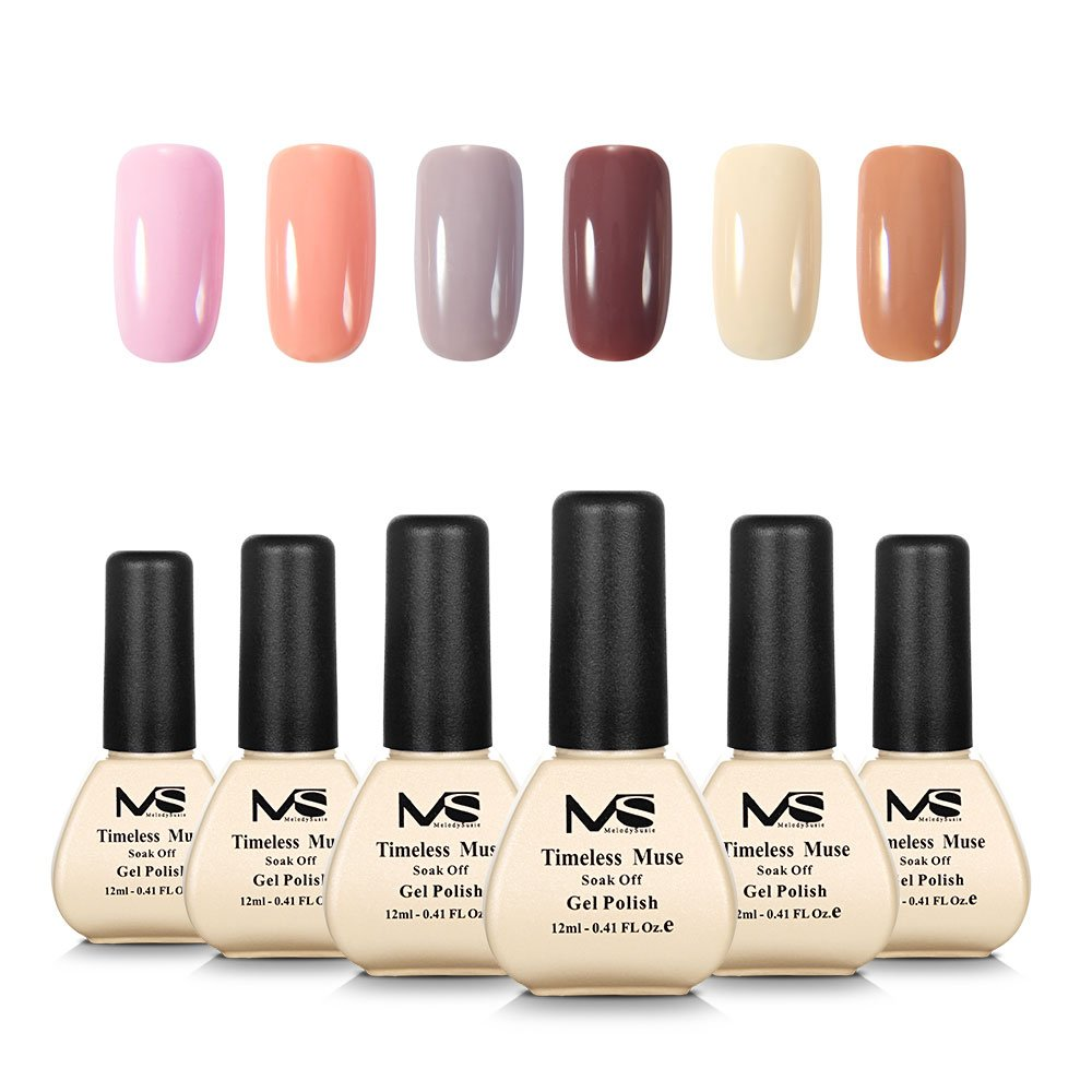 Amazon.com : MelodySusie Durable Gel Nail Polish - Sweet Reverie 1 ...