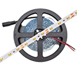 HitLights LS3528_WW Luma5 Series (SMD 3528) Warm White LED Light Strip, 300 LEDs, 5 Meters (16.4 Feet) Spool, 12VDC Input (Adapter not included)