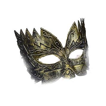 PromMask Mascara Facial Careta Protector de Cara dominó Frente Falso Halloween Media Cara máscara Guapa máscara