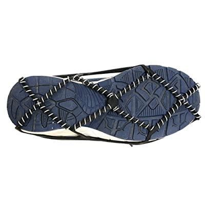 Zdmathe Marche Traction Crampons Universel Slip-on Fit Stretch Neige & Glacières