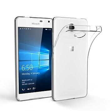 Cas De Gel Transparent Pour Microsoft Lumia 650 xMz4gS2lz