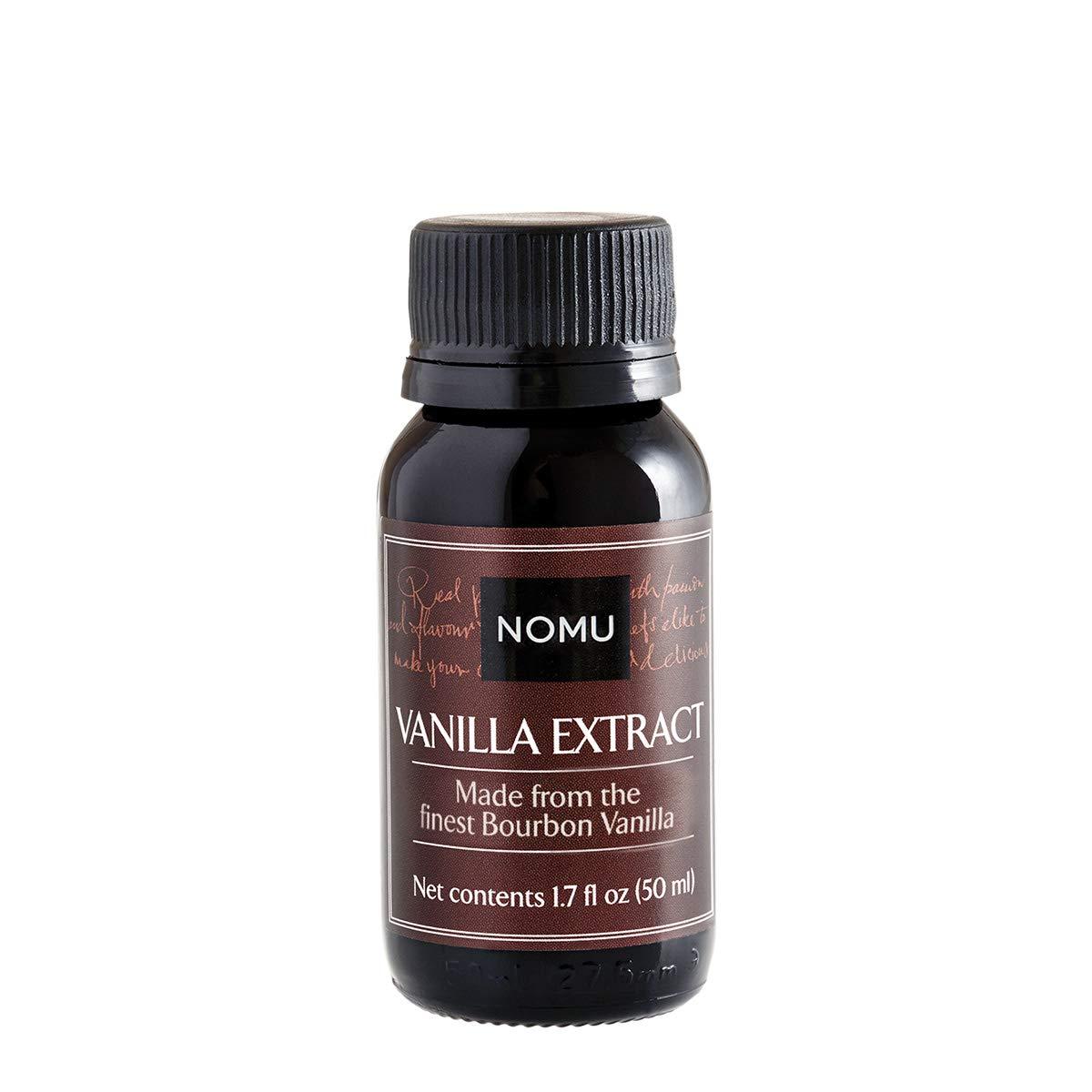 NOMU Vanilla Extract | Made with Bourbon Vanilla Beans (50ml)
