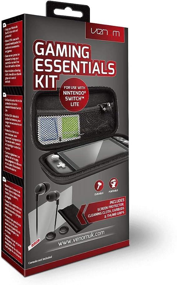 Venom Switch Lite 5-in-1 Essentials Pack (Nintendo Switch Lite ...
