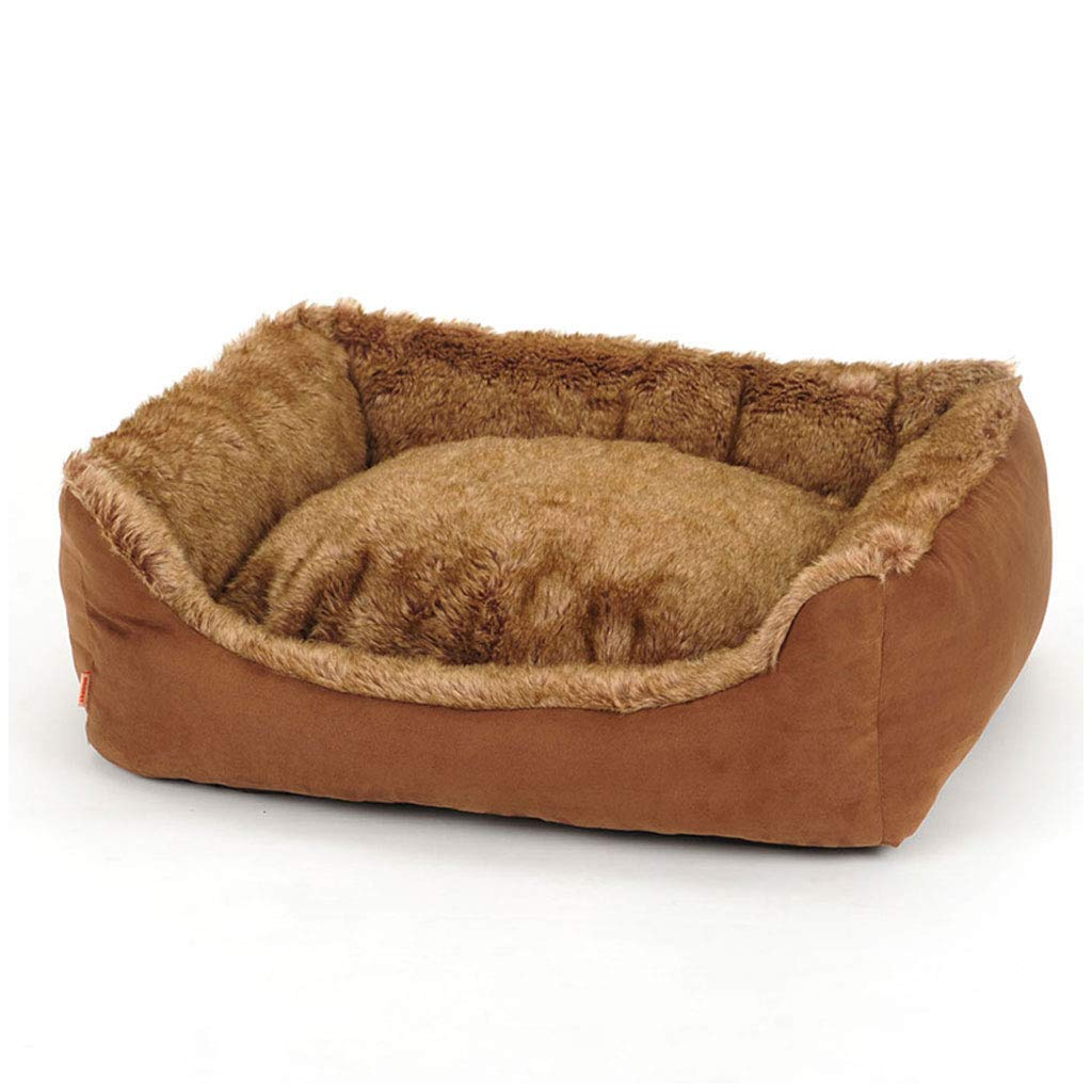 1208530cm Pet Bed Deluxe Plush Washable Soft Comfy Cat Dog Bed Waterloo Removable Cushion CHENGYI (Size   120  85  30cm)