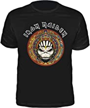 Camiseta Iron Maiden Book of Souls Círculo