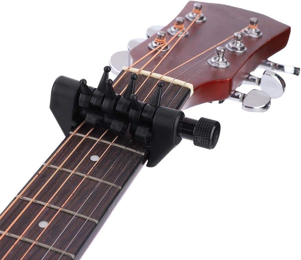 Dilwe Guitarra Capo, Multifuncional Acorde Capo Individualmente ...