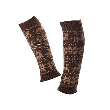 Amazon.com: Juego de piernas, 3 pares de calcetines de punto ...