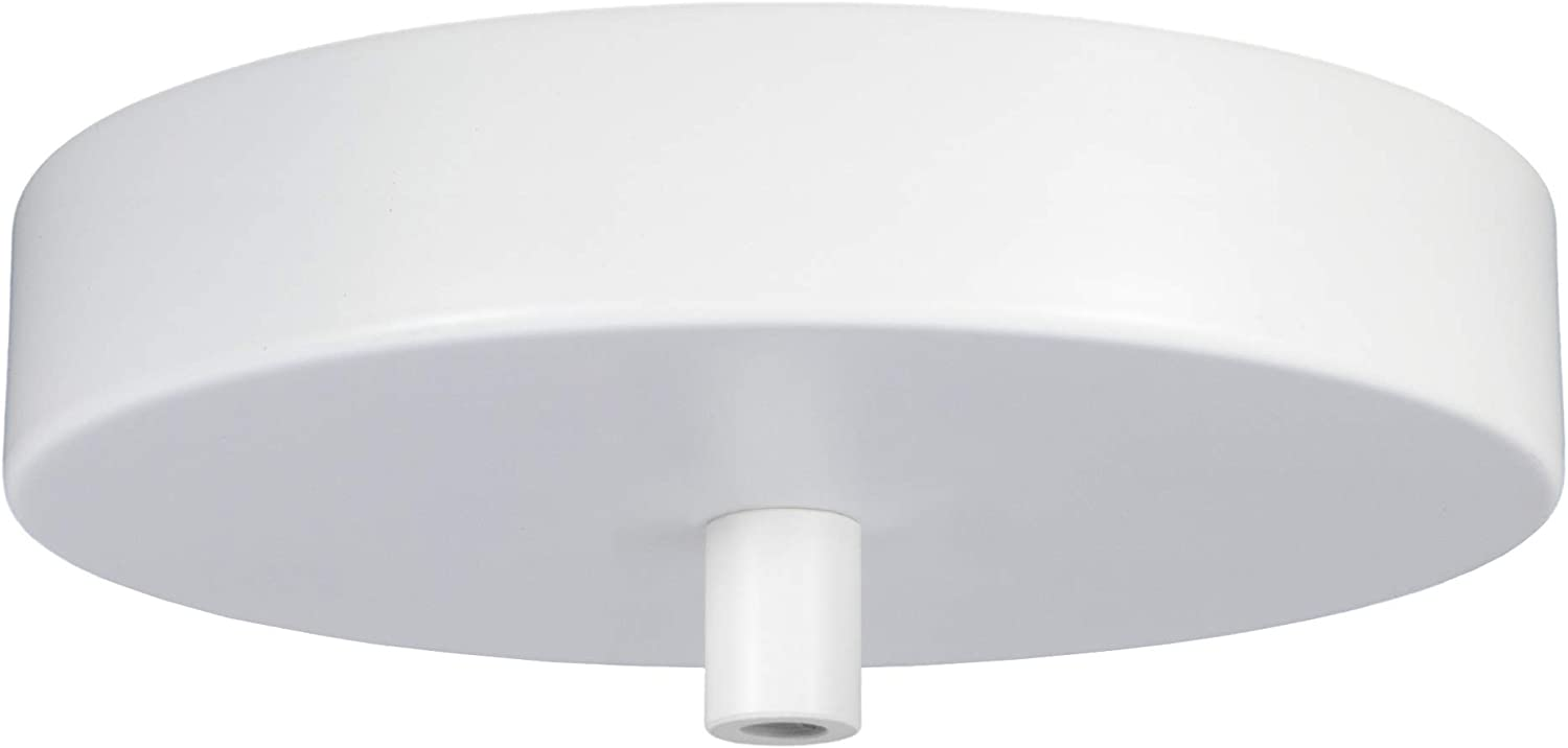 Amazon Com Flea Market Rx 5 Inch Pendant Canopy Kit With Lamp Cord Strain Relief Ceiling Light Cover Plate All Mounting Hardware For Hanging Style Lighting Fixtures 25 Lb Rated Made In