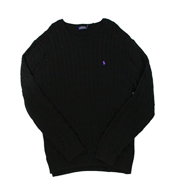 39ef4d3ac00 Polo Ralph Lauren Men s Cable Knit Crewneck Sweater Big and Tall (2XLT