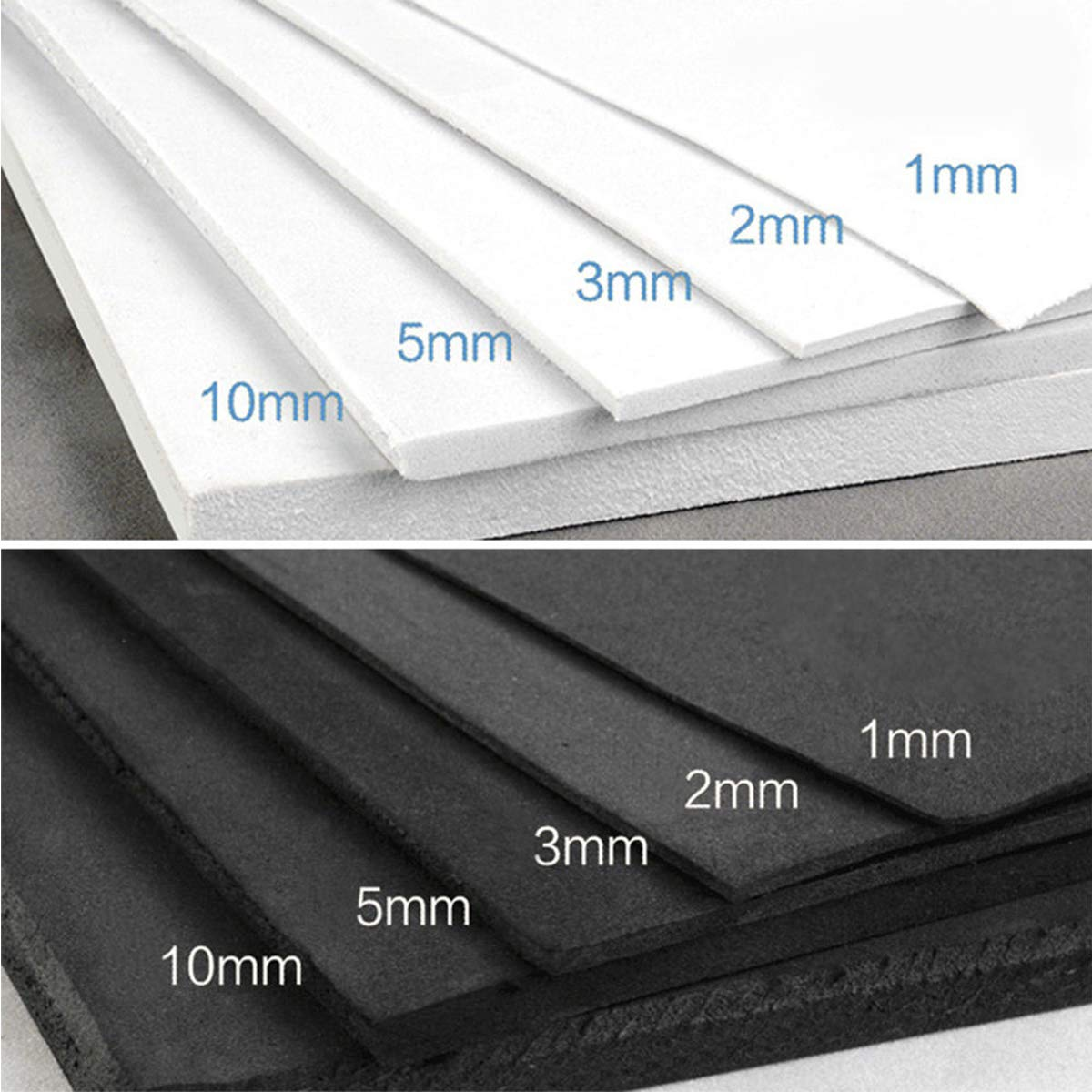 EVA Foam Sheets for Kids Craft Cosplay Model Handmade DIY 35x50cm 35x100cm Thickness 1mm//2mm//3mm//5mm//10mm
